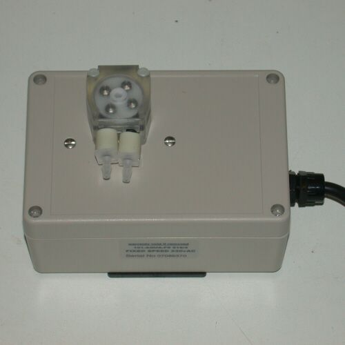 Peristaltic Pump 2ml per min flow & 24hr  timer